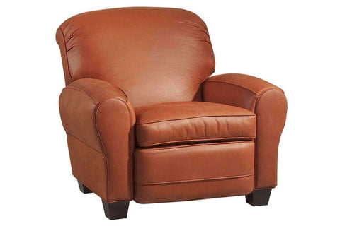 Leather Recliner Rogers Leather Classic Club Chair Recliner