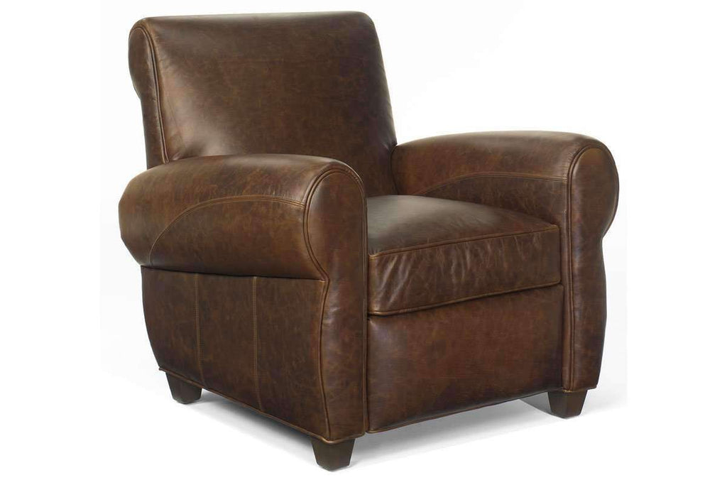 Leather Recliner Tribeca Vintage Style Leather Reclining Chair ...  sc 1 st  Club Furniture & Tribeca Distressed Leather Recliner - Rustic u0026 Vintage Style Recliners