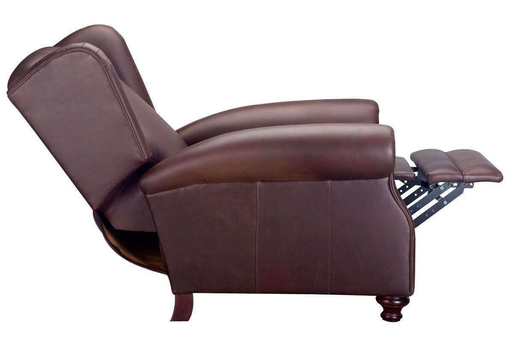 Picture of: Winston Leather Wingback Recliner Chair Club Furniture