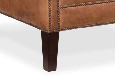 "Lee ""Ready To Ship"" Leather Accent Chair"