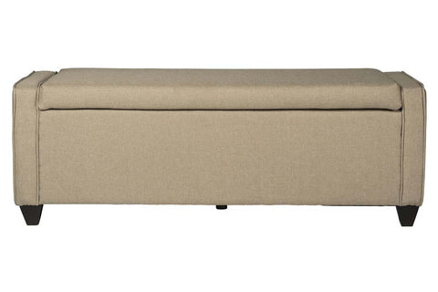 "Linden Queen Or King ""Quick Ship"" Linen Panel Bed"