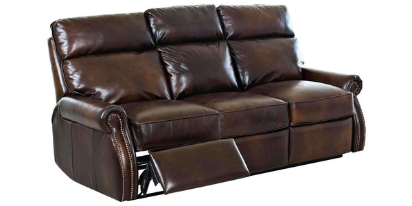 Living Room Brunswick Dual Power Recliner Leather Couch Collection