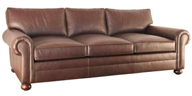 "Living Room Carrigan ""Designer Style"" Leather Deep Seat Living Room Furniture Collection"
