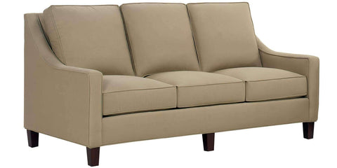 Living Room Graham Fabric Upholstered Sofa Collection