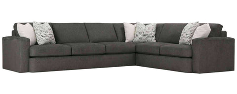 Living Room Hazel Large Track Arm Modern Sectional