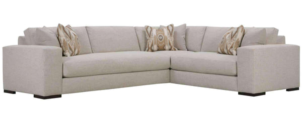 Living Room Hilda Large Bench Seat Track Arm Modern Sectional Sofa