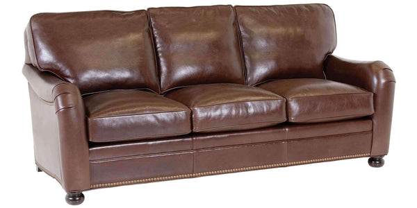 "Living Room Howell ""Designer Style"" Leather English Arm Furniture Set"