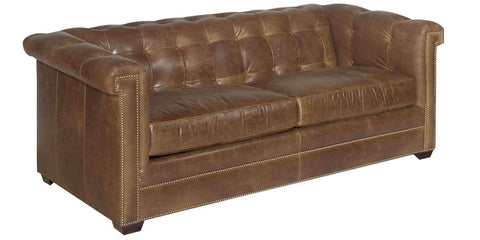 Living Room Hyde 8-Way Hand Tied Tufted Sofa / Sleeper