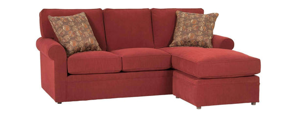 "Living Room Kyle ""Designer Style"" Apartment Size Sofa With Reversible Chaise"