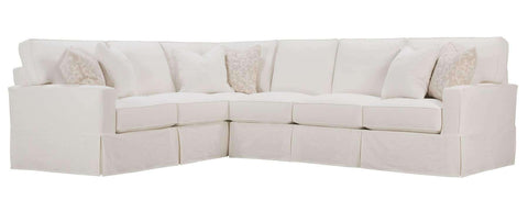 "Living Room Noelle ""Designer Style"" Oversized Comfort Slipcover Sectional Couch"