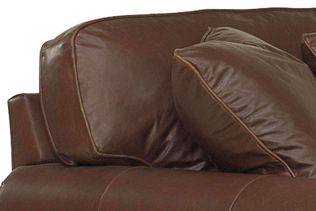 Sheffield Designer Style Grand Scale Leather Sectional Sofa ...