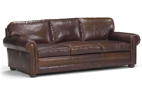 "Living Room Sheffield ""Designer Style"" Select-A-Size Oversized Leather Furniture Collection"