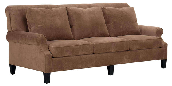 Living Room Sophia Traditional Fabric Upholstered Sofa Collection
