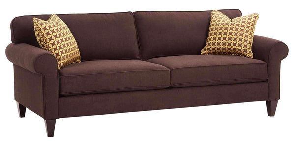 "Living Room Sylvia ""Designer Style"" Transitional Semi Attached Back Couch Collection"