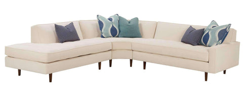 "Living Room Zoey ""Designer Style"" Mid-Century Modern Sectional"