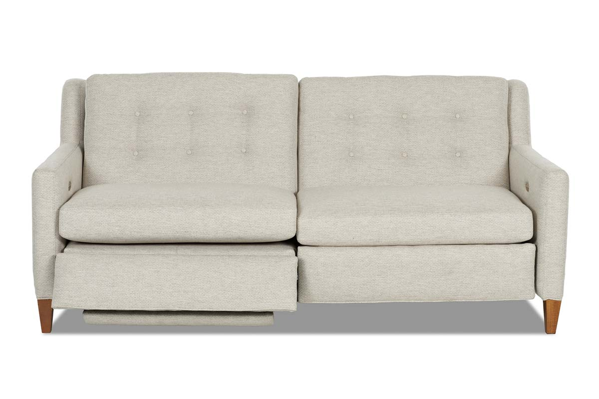 Lowry Fabric Mid-Century Modern Wall Hugger Reclining Collection