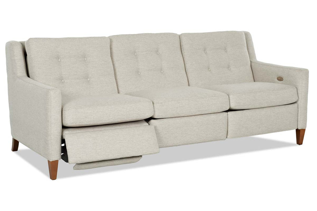 Picture of: Lowry Fabric Mid Century Modern Wall Hugger Reclining Collection