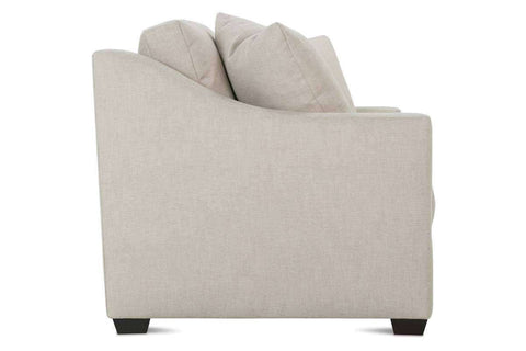 Macy 82 Inch Fabric Upholstered 2 Cushion Or Bench Seat Track Arm Sofa
