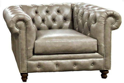 "Benedict ""Designer Style"" Chesterfield Chair"