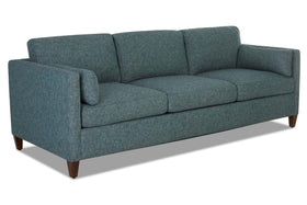 Marcie Fabric Mid-Century Modern Loveseat (Photo For Style Only)