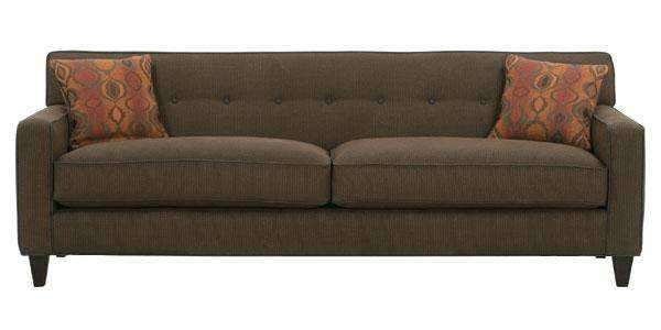 Fabric Furniture Margo Mid Century Modern Sleeper Sofa With Button Back ...