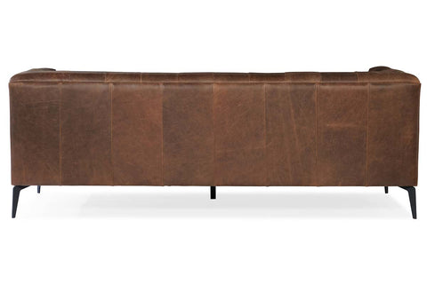 "Mariano ""Quick Ship"" Tufted Leather Living Room Furniture Collection"