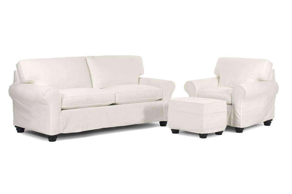 Slipcovered Furniture Mason Queen Sleeper Sofa Set