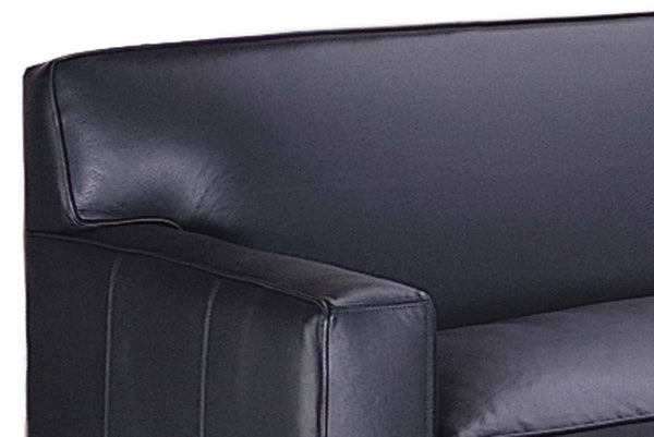 "Metropolitan ""Designer Style"" Leather Loveseat"
