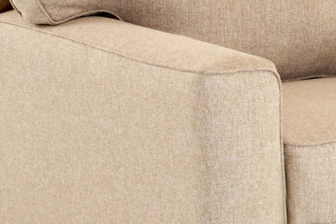 "Monty ""Custom Value"" Transitional Track Arm Fabric Armchair"