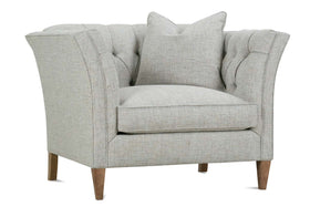 Muriel Button Tufted Living Room Chair 1/2