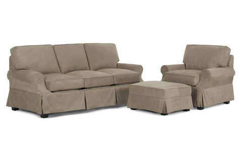Nadine Slipcover Queen Sleeper Sofa Set