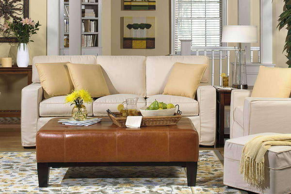Slipcovered Furniture Nantucket Slipcover Queen Sleeper Sofa Set