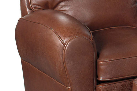 Orleans French Leather Club Chair