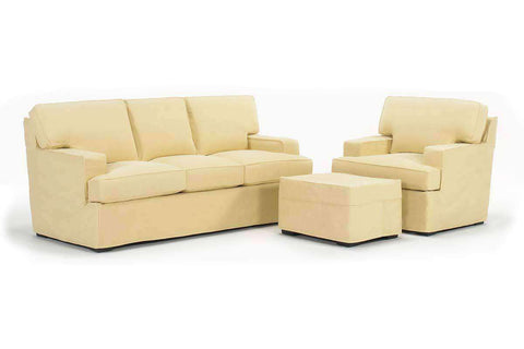 Slipcovered Furniture Rachel Slipcover Sleeper Sofa Set
