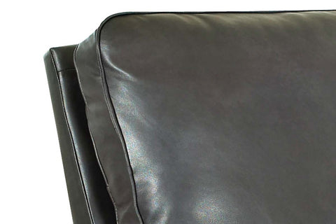 Randal Leather Reclining Pillow Back Swivel Glider Chair