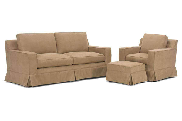 Slipcovered Furniture Regina Slipcover Queen Sleeper Set