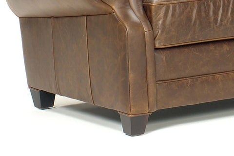 "Richmond ""Designer Style"" Leather Sleeper & Recliner Set"