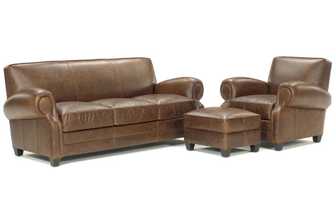 "Richmond ""Designer Style"" Leather Queen Sleeper Set"
