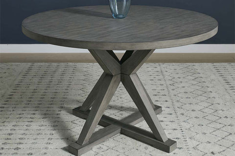 Ronan Contemporary Round Dining Room Collection