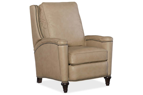 "Sayer Hearthstone ""Quick Ship"" Leather Recliner Chair"