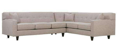 "Sectional Sofa Margo Collection - ""Quick Ship"" 2-Piece Sectional (Version 1)"