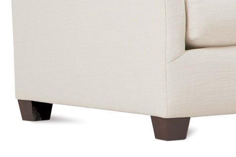 "Shauna ""Designer Style"" Bench Seat Wing Arm Fabric Sectional"