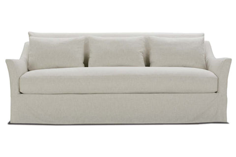 Shauna 85 Or 98 Or 110 Inch Oversized Single Bench Seat Slipcovered Sofa