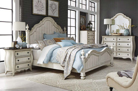 "Siena Glazed White ""Create Your Own Bedroom"" Collection"