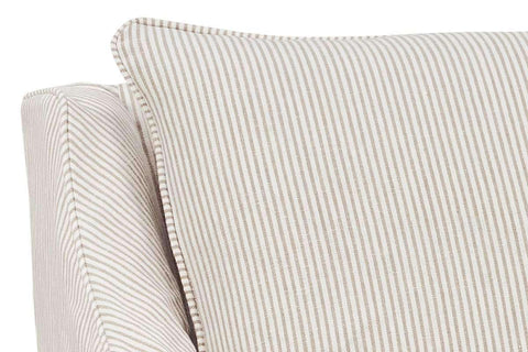 Slipcovered Accent Chairs And Chaise Giuliana Swivel Slipcover Accent Chair With Narrow Arms