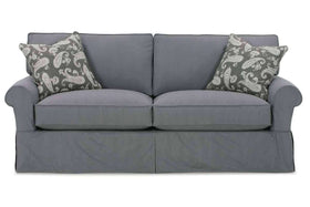 "Slipcovered Furniture Bethany ""Designer Style"" 78"" Slipcovered Apartment Sofa"