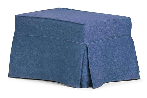 Slipcovered Furniture Camden Slipcover Ottoman