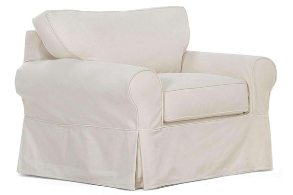 "Slipcovered Furniture Charleston ""Grand Scale"" Slipcover Chair"