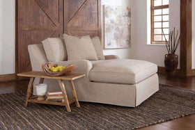 Joanna Oversized Slipcover Chaise Lounge