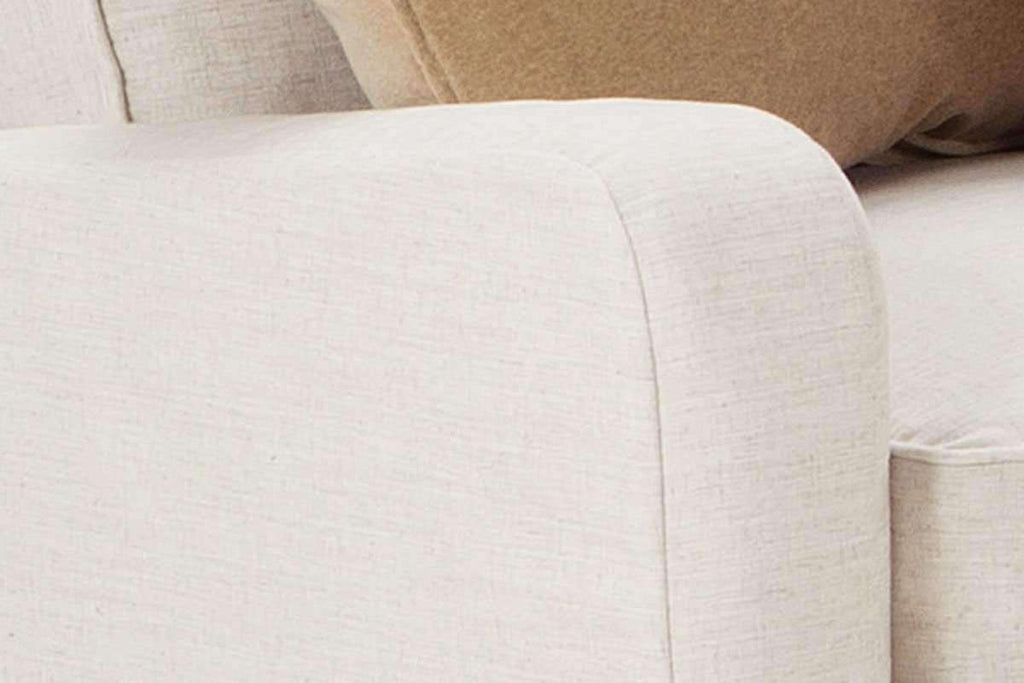 Joanna Oversized Double Chaise Lounge Fabric Slipcover